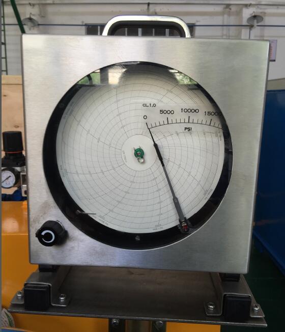 试压泵圆盘记录仪使用说明书